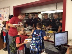 Bolivar Fire Dept. at TV Intermediate School for 911