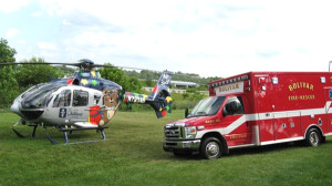 Medic 110 in action
