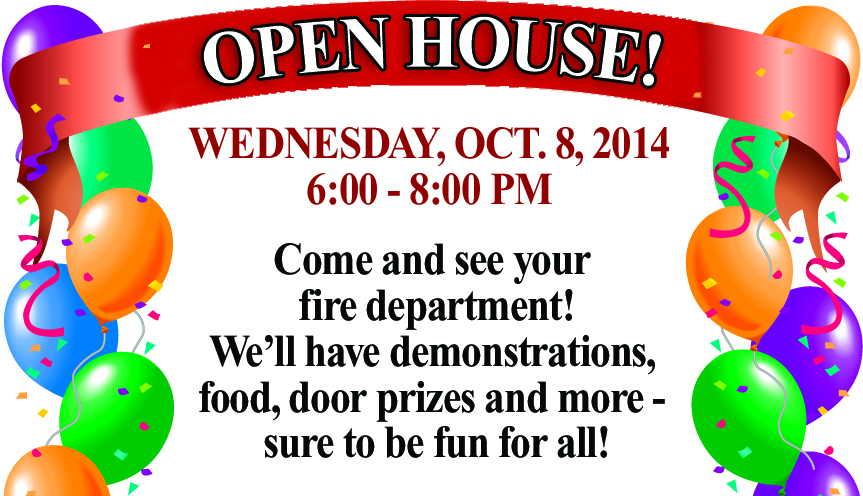 Bolivar Fire Dept. Open House