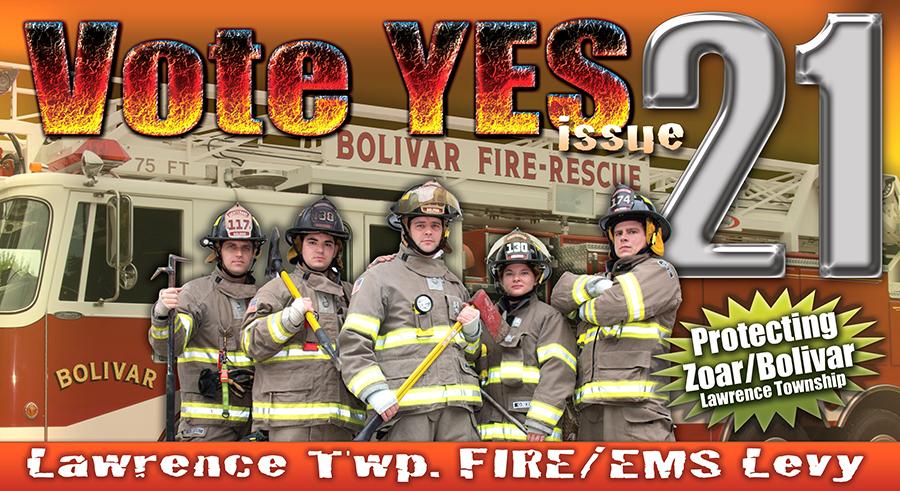 Bolivar Fire Dept Issue 21 Info