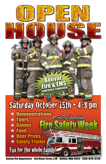 Visit Us at our Open House Oct. 15th