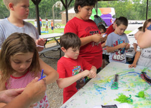 Happy to have hosted the recent Bolivar Library's Community Fun Day!